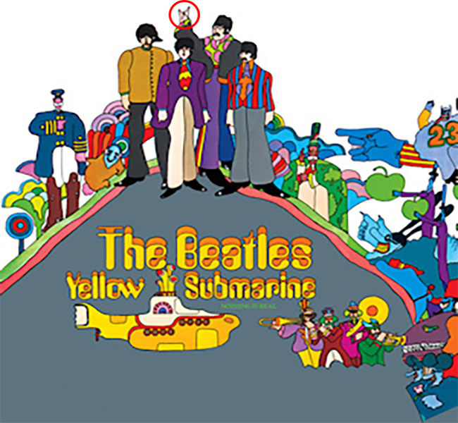 "7.) Among the many things the band were firsts to pioneer, the cover for Yellow Submarine features the first use to of ""devil horns"" on an album cover."