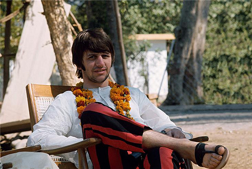 13.) Ringo brought an extra suitcase full of one thing with him during the band's iconic trip India: baked beans. After suffering various ailments in childhood, his stomach couldn't quite handle the spicy food available in the country.